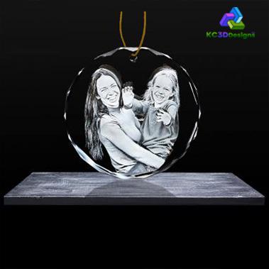 2D Crystal Ornament - KC 3D Design