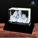 3D Crystal Rectangle Wide - KC 3D Design