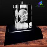 3D Crystal Candle Holder - KC 3D Design