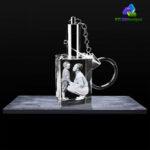 3D Crystal Rectangle Keychains - KC 3D Design