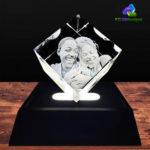 3D Crystal Cut Corner Diamond - KC 3D Design