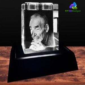 3D Crystal Urn or Candles - KC 3D Design